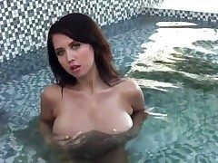 Chrissy Marie in massive melons with the addition of trimmed