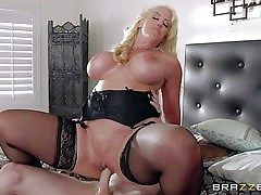 Alura Jenson is a insatiable as hell mother with large