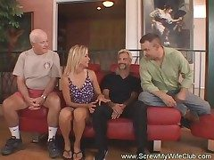 Kinky Housewife Swings For First Time