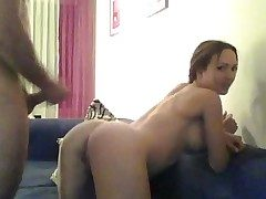 Phat titted splendid chicks fucks on web cam
